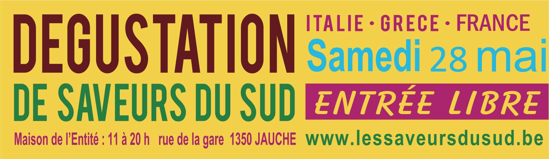 D�gustation Grappa, Prosecco & vins bio + produits fins grecs & fran�ais le samedi 28 mai de 11h � 20h � Jauche